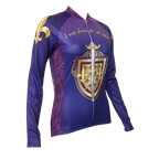 Retro Image Two Joan of Arc Women's Jersey Long Sleeve