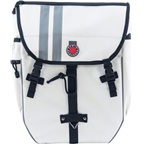 Banjo Brothers Waterproof Backpack Pannier: White