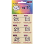 YBN 11-Speed QRS Link Card of 6 Reusable up to 5 times