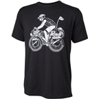 Surly Safety First Long Haul Trucker George T-Shirt: Black