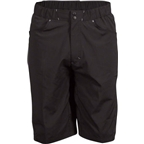 "Zoic 12"" Analog Cycling Short with Removable Chamois Liner: Black"