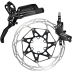 SRAM Guide Ultimate Rear Hydraulic Disc Brake Black 1800mm line, Black, no Rotor or Bracket