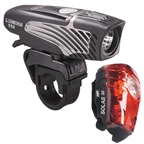 NiteRider Lumina 550 and Solas 30 Rechargeable Headlight and Taillight Set