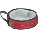 Cycle Dog Trail Buddy Pet Bowl: 22oz Red Tri-Style