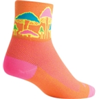 SockGuy Trippin Sock: Orange