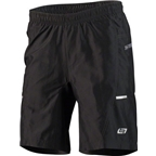 Bellwether Men's Ultralight Gel Baggies Cycling Short: Black
