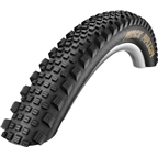 "Schwalbe Rock Razor Tubeless Easy SnakeSkin Tire, 29 x 2.35"" EVO Folding Bead Black with PaceStar Compound"