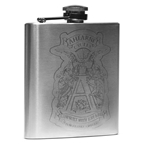 Ahearne Cycles Spaceman Bicycle Flask, Stainless