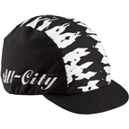 All-City Wangaaa! Cap: Black/White One Size