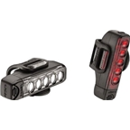Lezyne Strip Drive Front 100/Rear 25 Lumen USB Rechargeable Headlight and