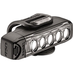 Lezyne Strip Drive 100 Lumen USB Rechargeable Headlight: Black
