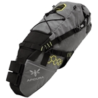 Apidura Saddle Pack, Medium - Grey/black