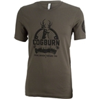 Cogburn Backcountry T-Shirt: Green