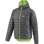 Louis Garneau Activate Jacket: Black/Green