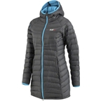 Louis Garneau Activate Women's Jacket: Black/Atomic Blue