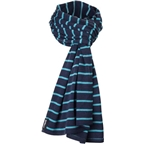 Surly Merino Wool Scarf: Blueoshpere One Size