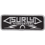 Surly Steel Trucker Patch: Black One Size