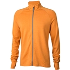 Surly Long Sleeve Merino Jersey: Curry First Orange