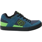 Five Ten Freerider Men's Flat Shoe: Blanch Blue/Solar Green