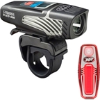 NiteRider Lumina 600 OLED and Sabre 35 Rechargeable Headlight and Taillight Combo