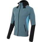 Pearl Izumi Men's Fly Softshell Hoody Jacket: Gray/Blue