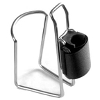 TwoFish QuickCage Water Bottle Cage: Stainless 21oz Bottle Included
