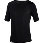 Ibex Men's Woolies 1 Short Sleeve Base Layer Top: Black