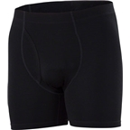 Ibex Men's Woolies 1 Boxer Brief: Black