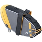 Detours Wedgie Seat Bag: LG Gray/Orange