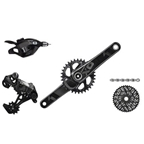 SRAM 2016 X01 Kit-In-A-Box Trigger Shift GXP 175mm 32 Tooth Direct Mount Chainring, No Brakes, No Bottom Bracket