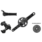 SRAM 2016 X01 Kit-In-A-Box Twist Shift GXP 175mm 32 Tooth Direct Mount Chainring, No Brakes, No Bottom Bracket