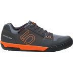 Five Ten Freerider Contact Men's Flat Shoe: Dark Gray/Orange