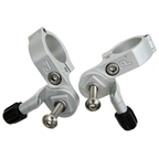 Paul Components Shimano Thumbies Shifter Mounts - Silver Pair