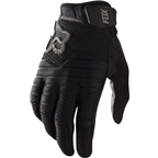 Fox Racing Sidewinder Full Finger Glove: Black SM