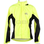 O2 Primary Rain Jacket with Hood: Hi-Vis Yellow