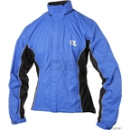 O2 Primary Rain Jacket with Hood: Royal Blue