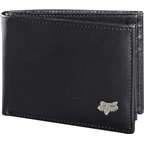 Fox Racing Leather Bifold Wallet: Black