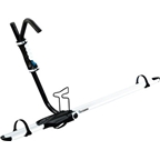 RockyMounts BrassKnuckles Upright Bike Carrier: White