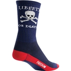 SockGuy Liberty or Death Sock: Blue
