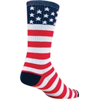 SockGuy USA Flag Sock: Red/White/Blue