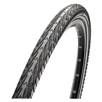 """Maxxis Overdrive Tire 27.5 x 1.65"""", Single Compound, Reflective Sidewall, Steel Bead: Black"""