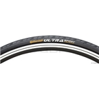 "Continental Ultra Sport II Tire 27 x 1-1/4"" Steel Bead Black"