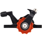 Paul Component Engineering Klamper Disc Caliper, Short Pull, Black/Orange