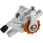 Paul Component Engineering Klamper Disc Caliper, Short Pull, Silver/Orange