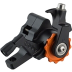 Paul Component Engineering Klamper Disc Caliper, Long Pull, Black/Orange