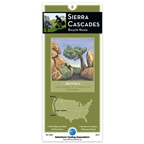 Adventure Cycling Map: Sierra Cascades - Lake Isabella, CA