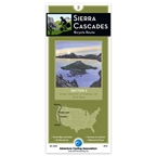 Adventure Cycling Map: Sierra Cascades - Crater Lake NP, OR to Truckee, CA