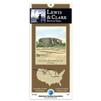 Adventure Cycling Map: Lewis & Clark - Three Forks, MT to Williston, ND