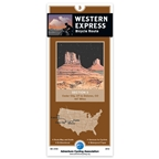 Adventure Cycling Map: Western Express - Cedar City, UT to Dolores, CO