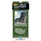 Adventure Cycling Map: Great Parks - Fernie, BC to Missoula, MT